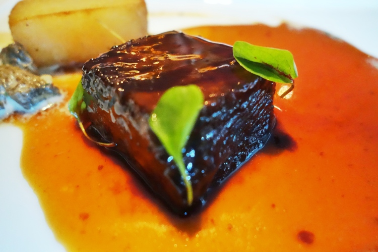 Braised shortrib with bordelaise